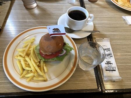 Cafe Downeyのモーニング