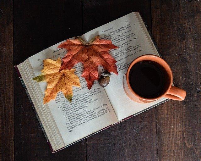 秋に飲むコーヒー