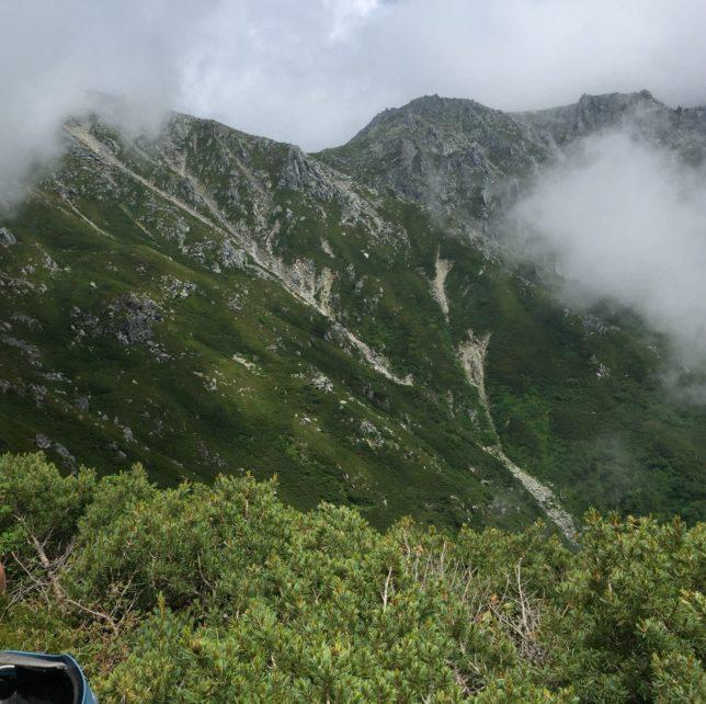 中央アルプス 木曽駒ケ岳の風景