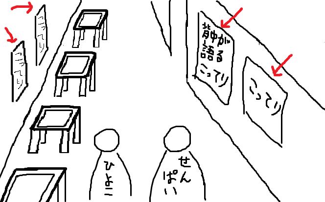 天下一品の店内のイメージ