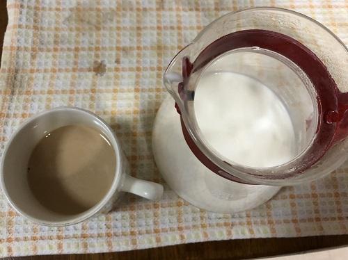 キリマンジャロコーヒーとカフェラテ