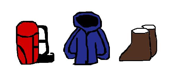 登山の道具