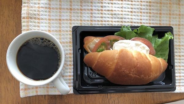 小川珈琲と朝食