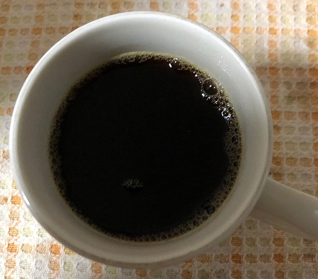 マラウイコーヒー抽出後