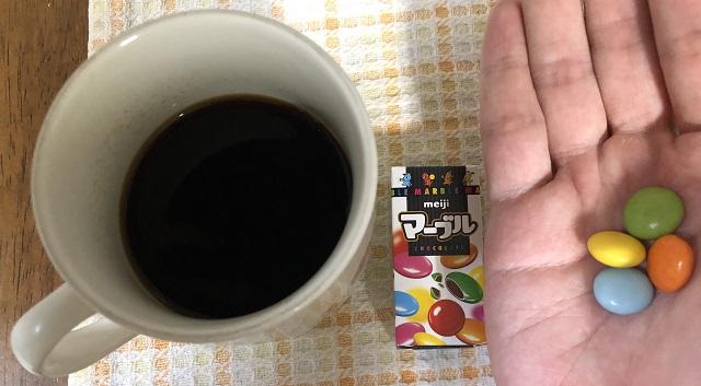 ニカラグア産コーヒーとチョコ