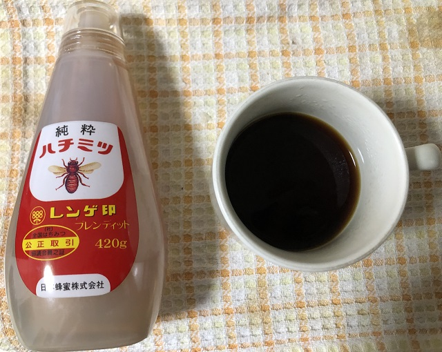 コーヒーとはちみつの組み合わせ