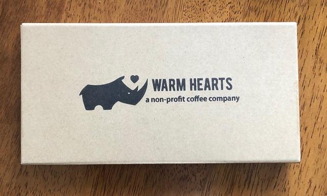 マラウイコーヒーの外箱
