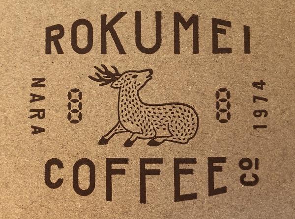 ロクメイコーヒーのロゴ