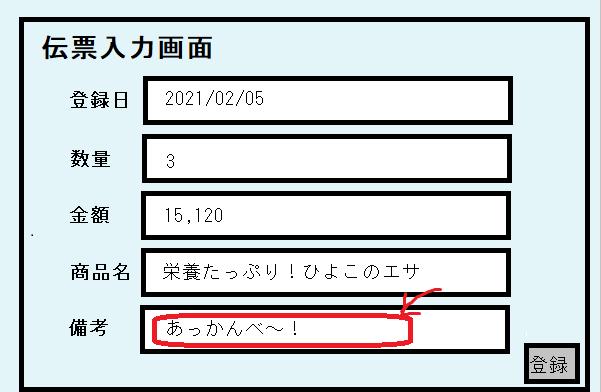 伝票入力画面の監査