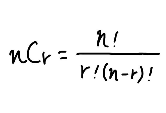 組合せの公式