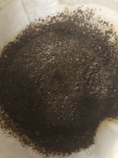 メキシココーヒーの蒸らし