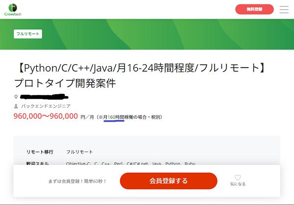 Javaの案件