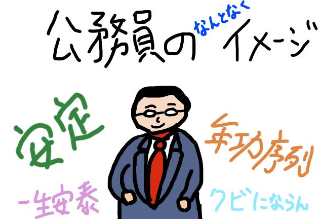 公務員のイメージ