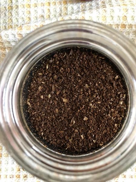 東ティモールの豆の様子