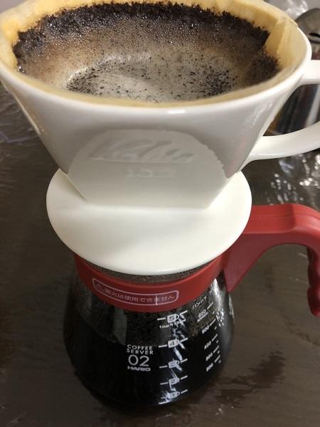 チャンバーコーヒーを淹れる
